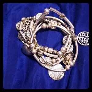 Lia Sophia Menagerie stretch bracelet